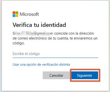 Cómo cambiar la clave de Skype desde la PC si no la recuerdas paso 4