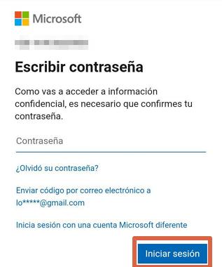 Cómo cambiar la contraseña de Skype desde el navegador del celular paso 5