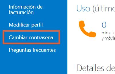 Cómo cambiar la contraseña de Skype desde la PC paso 2