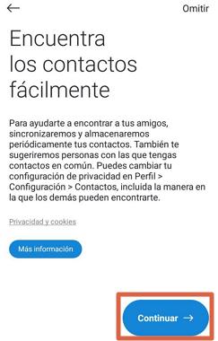 Cómo crear una cuenta o registrarse en Skype desde la app paso 9
