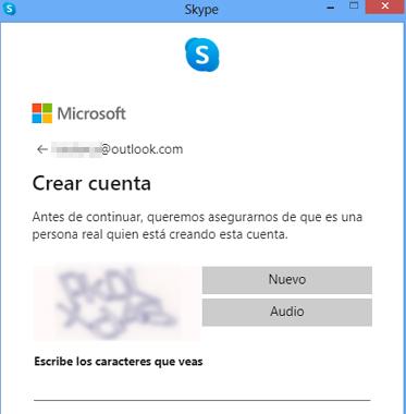 Cómo crear una cuenta o registrarse en Skype desde la versión de escritorio paso 10