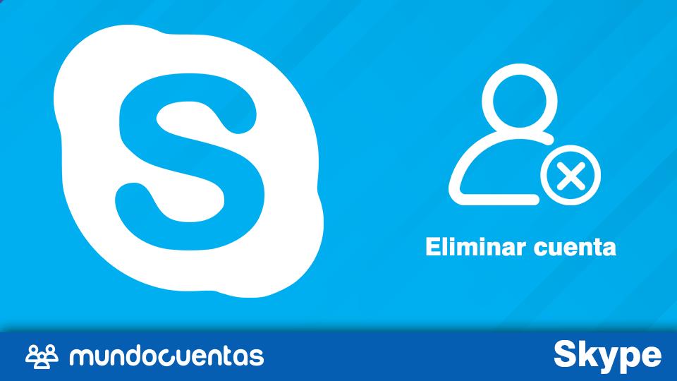 Cómo eliminar cuenta en Skype