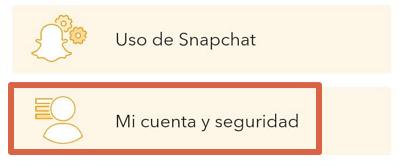 Cómo eliminar tu cuenta de Snapchat desde la app oficial paso 5