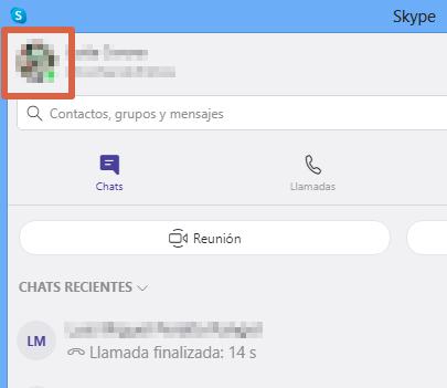Cómo eliminar una cuenta de Skype desde la PC paso 2