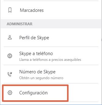Cómo eliminar una cuenta de Skype desde la PC paso 3
