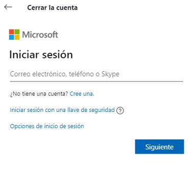 Cómo eliminar una cuenta de Skype desde la PC paso 5