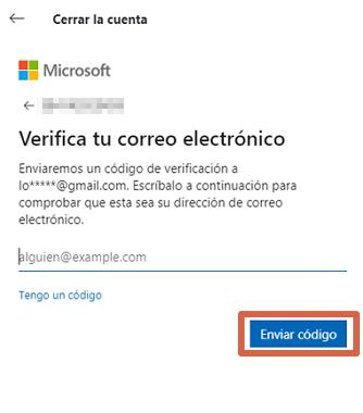 Cómo eliminar una cuenta de Skype desde la PC paso 6