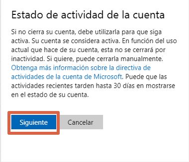 Cómo eliminar una cuenta de Skype desde la PC paso 9