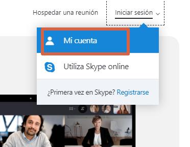 Cómo ocultar los datos de tu cuenta de Skype desde la web paso 3