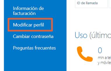 Cómo ocultar los datos de tu cuenta de Skype desde la web paso 4
