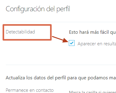 Cómo ocultar los datos de tu cuenta de Skype desde la web paso 5