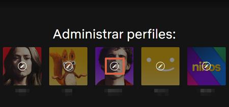 Cómo borrar un perfil de Netflix a través de la página web paso 3