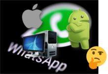 instalar WhatsApp en Android, iOS o PC