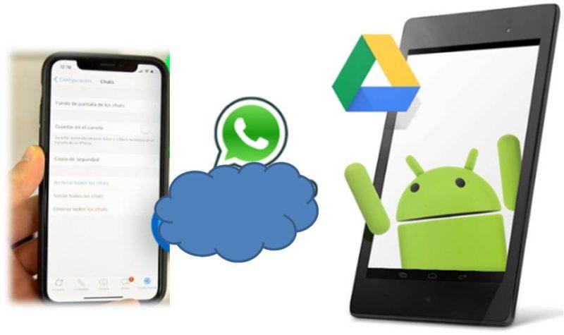 WhatsApp Como hacer una copia de seguridad COMPLETA