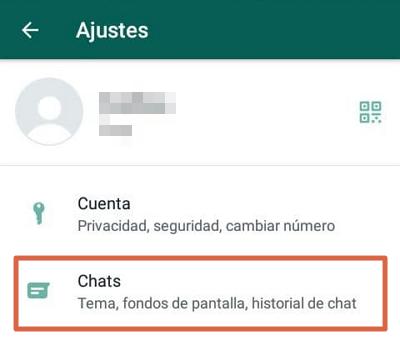 Cómo hacer una copia de seguridad de WhatsApp en Android paso 3