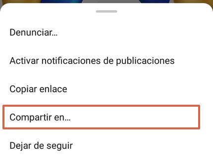 Cómo descargar fotos o videos de Instagram utilizando InSaver paso 3