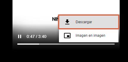 Cómo descargar videos de YouTube con Savefrom.net paso 7