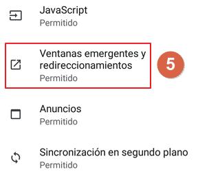 bloquear anuncio en android paso 5