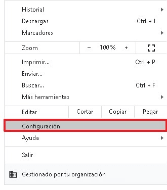 bloquear anuncios desde configuraciones paso 1 y 2