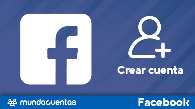 Crear cuenta o registrarse en Facebook