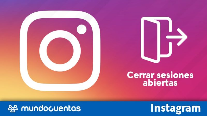 Cómo cerrar sesiones abiertas en Instagram
