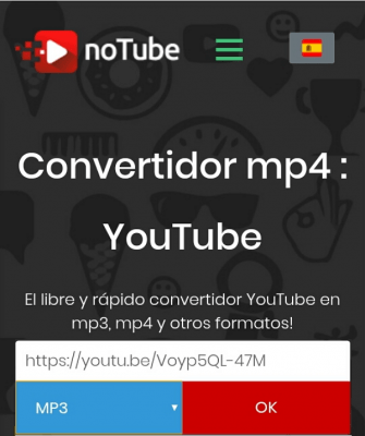 youtube descargar video notube
