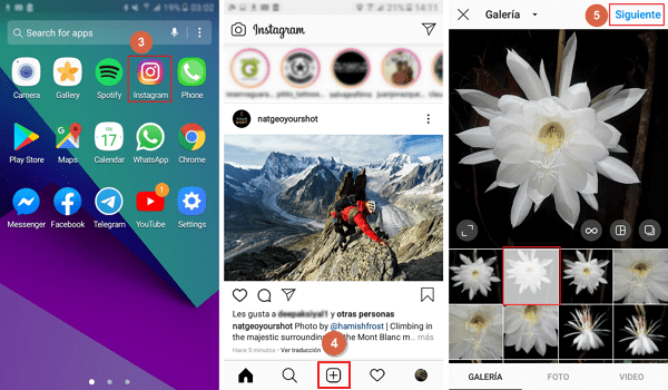 subir fotos a instagram desde el celular