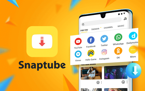 descargar música de youtube con snaptube