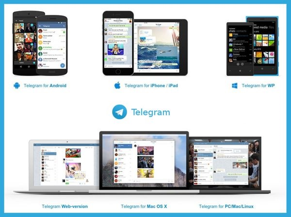 telegram multiplataforma
