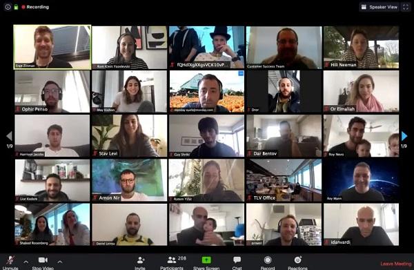 video conferencia zoom