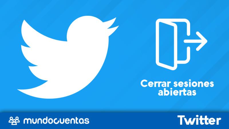 Cerrar sesiones abiertas de Twitter en todos los dispositivos