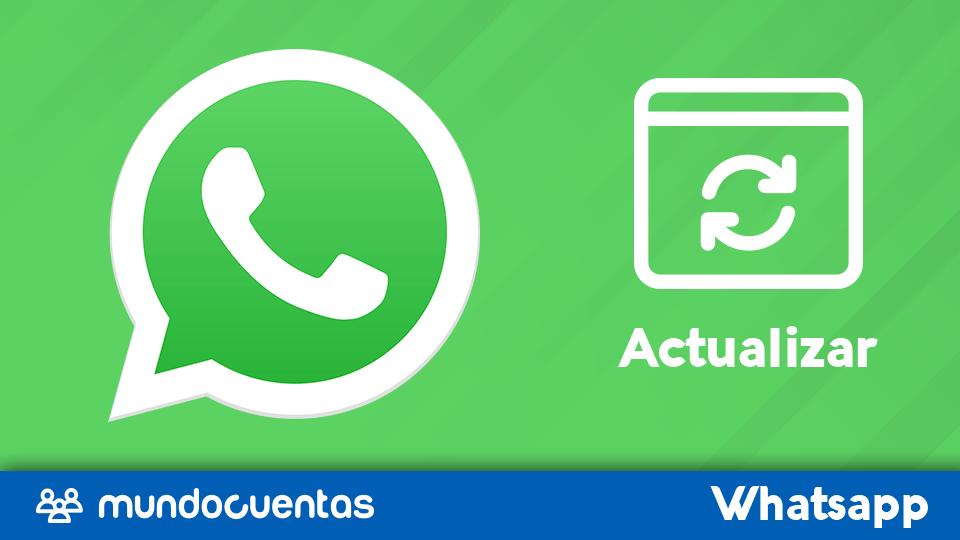 Como actualizar WhatsApp a la ultima versión