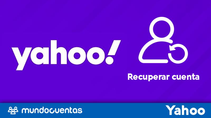 Recuperar cuenta de Yahoo