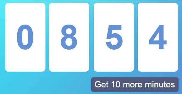Usos de 10minutemail