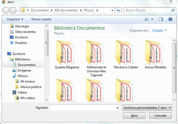 cargar archivo a word online