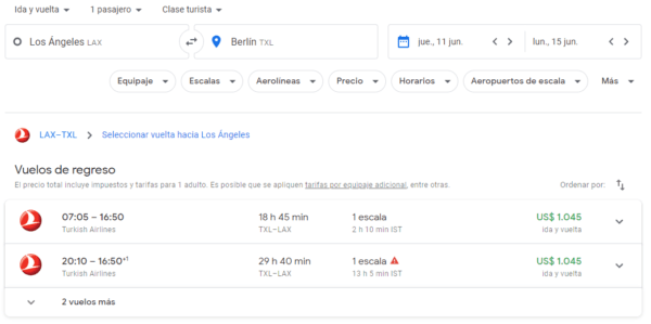 Como usar Google Flights 1