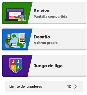 Cómo jugar a un Kahoot existente en la app paso 3