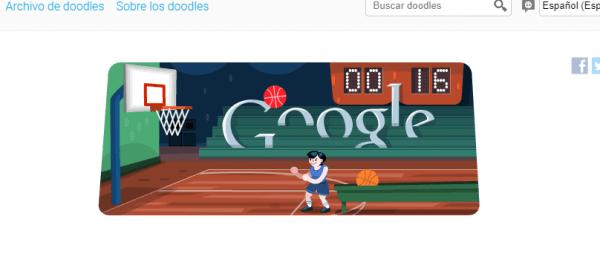 Doodle-baloncesto 2012