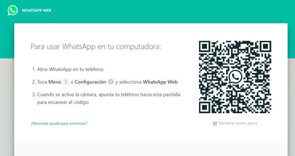 Recuperar mensajes borrados del WhatsApp mediante WhatsApp Web