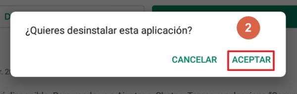 Recuperar mensajes restaurando copia de seguridad Android Paso 2