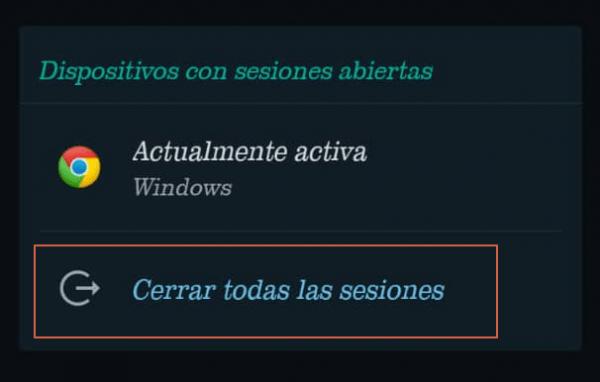 cerrar sesion en whatsapp web