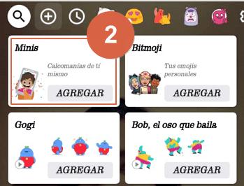 crear memojis en android con gboard paso 2
