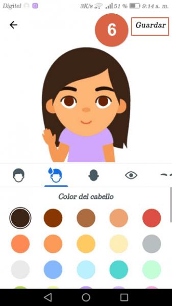 crear memojis en android con gboard paso 6