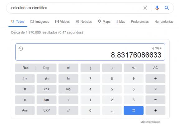 funcionalidades ocultas - calculadora
