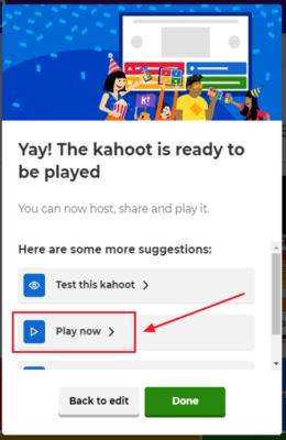 como jugar en kahoot