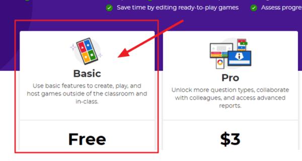 crear una cuenta en kahoot gratis