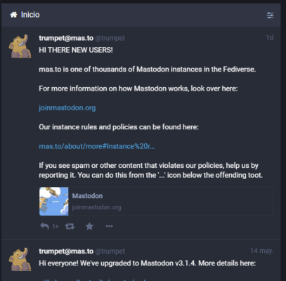 como ver mis seguidores en mastodon