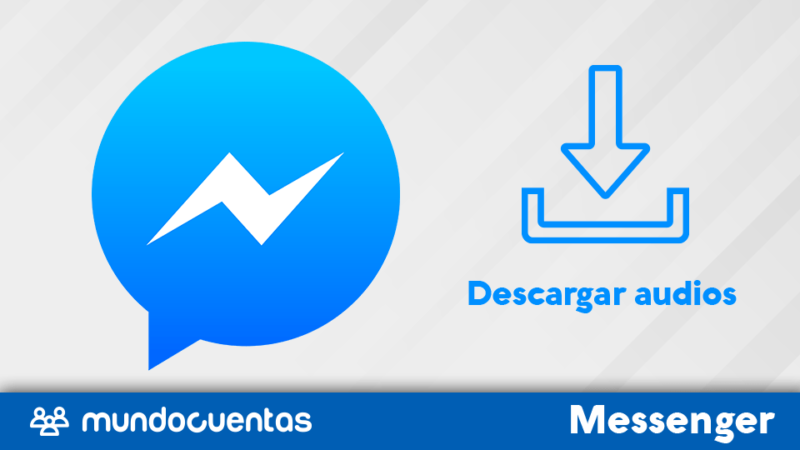 Descargar audios de Facebook Messenger