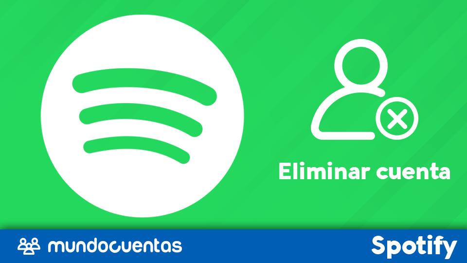 Eliminar cuenta de Spotify