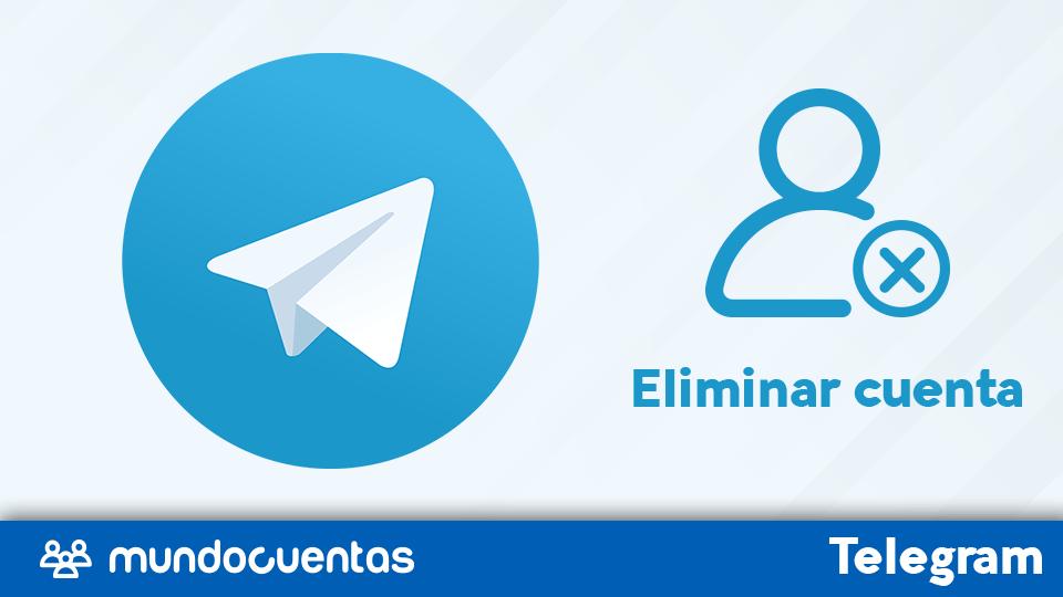 Eliminar cuenta de Telegram